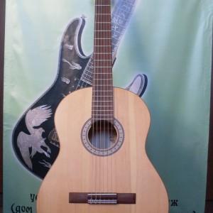Дофф C Классическая гитара (массив клёна).