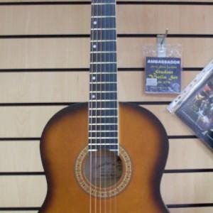 Классическая гитара Амистар М-30 светло-коричневая матовая